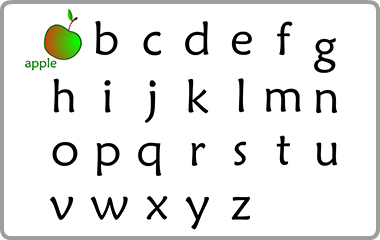 US English Alphabet