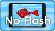 Poisson Rouge No Flash . HTML5